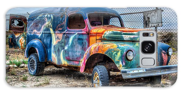 Old Colored Truck Galaxy Case