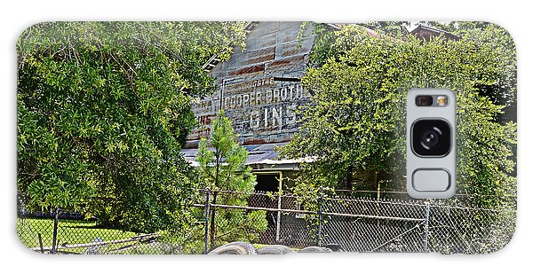 Old Cotton Gin Galaxy Case by Linda Brown
