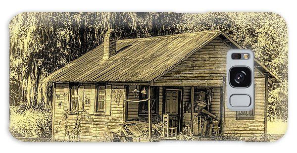 Old Country Cottage Galaxy Case by Lewis Mann
