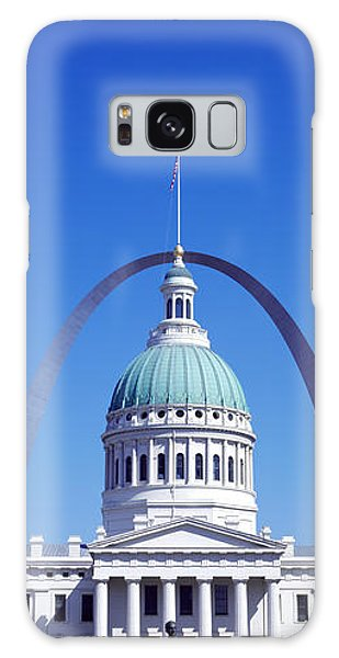 St Louis Mo Galaxy Case - Old Courthouse & St Louis Arch St Louis by Panoramic Images