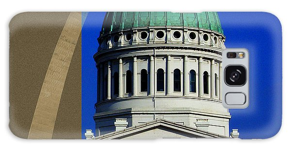 Old Courthouse Dome Arch Galaxy Case