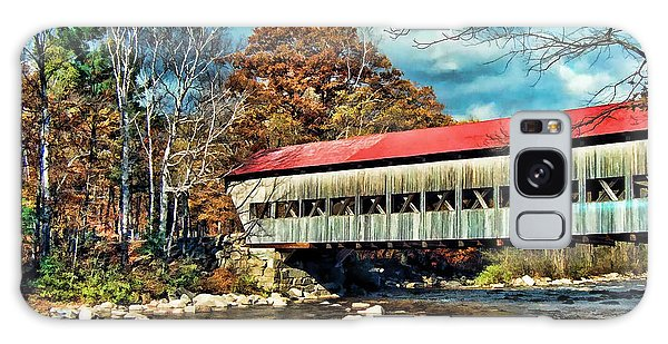 Old Covered Bridge Galaxy Case by Kenny Francis