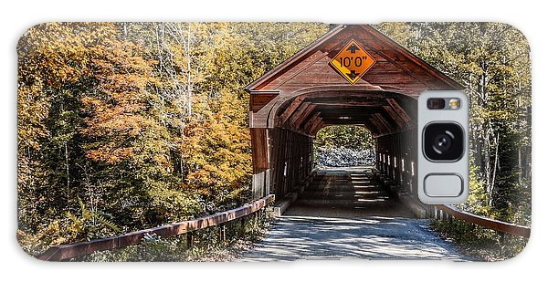 Galaxy Case featuring the photograph Old Covered Bridge Vermont by Edward Fielding