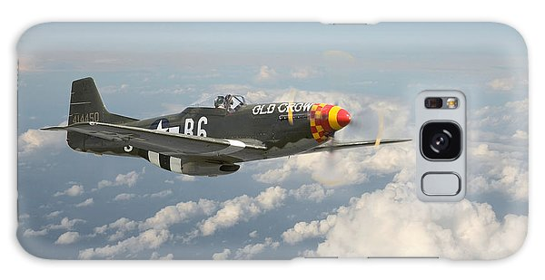 P51 Mustang - 'old Crow' Galaxy Case
