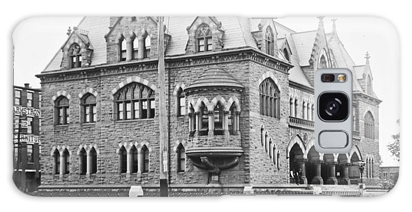 Old Customs House And Post Office Evansville Indiana 1915 Galaxy Case