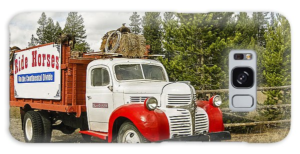 Old Dodge Truck Galaxy Case