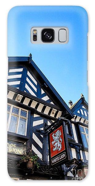 Old English Pub Of The Tudor Era Galaxy Case