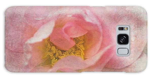 Old English Rose Galaxy Case by Liz  Alderdice