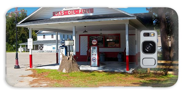 Old Esso Station Galaxy Case by Bob Pardue