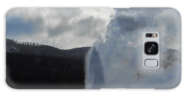 Old Faithful Morning Galaxy Case by Michele Myers
