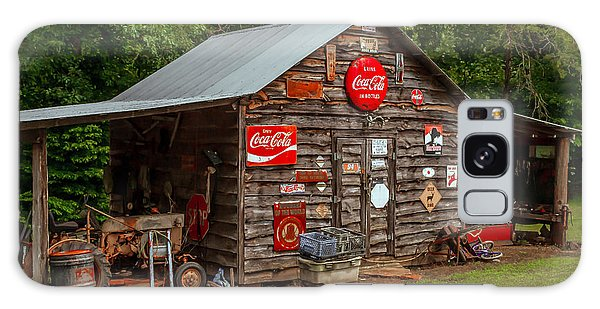 Old Farm Barn Galaxy Case by Marion Johnson