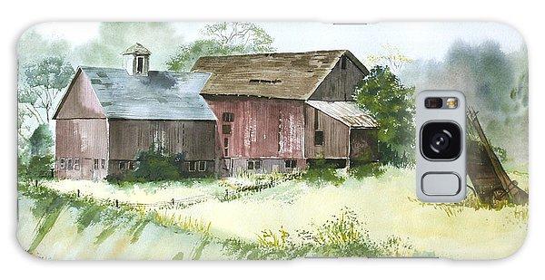 Old Farm Buildings Galaxy Case by Susan Crossman Buscho