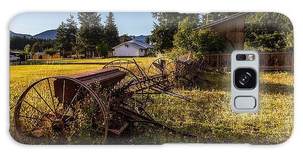 Old Farm Equipment Ronald Wa Galaxy Case