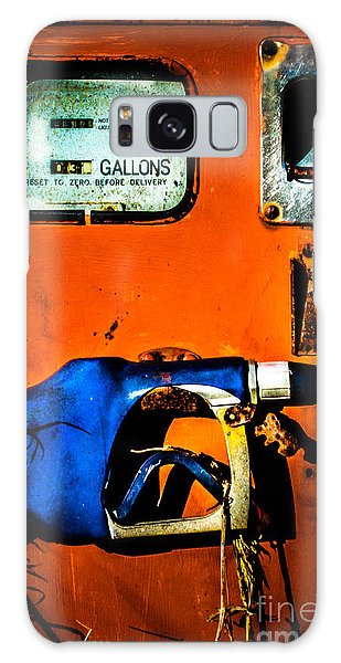 Old Farm Gas Pump Galaxy Case