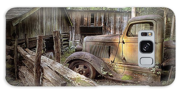 Old Farm Pickup Truck Galaxy Case