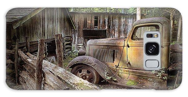 Old Farm Pickup Truck Galaxy Case