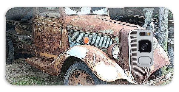 Old Farm Truck Galaxy Case