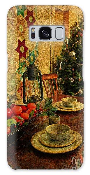 Old Fashion Christmas At Atalaya Galaxy Case by Kathy Baccari