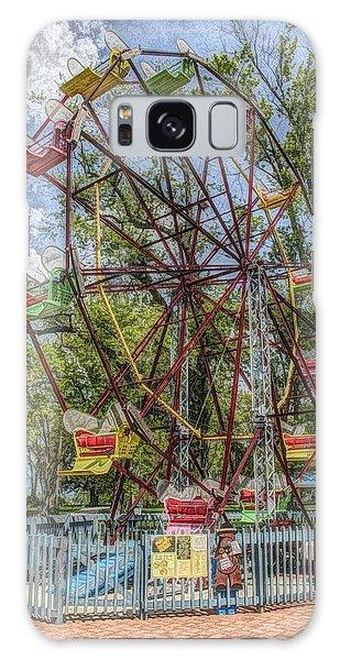 Old Fashioned Ferris Wheel Galaxy Case