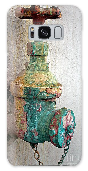 Old Fire Hydrant Galaxy Case