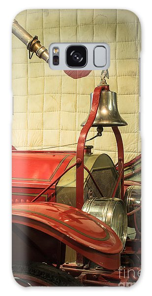 Old Fire Truck Engine Safety Net Galaxy Case