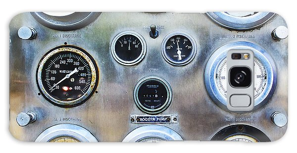 Old Fire Truck Gauge Panel Galaxy Case