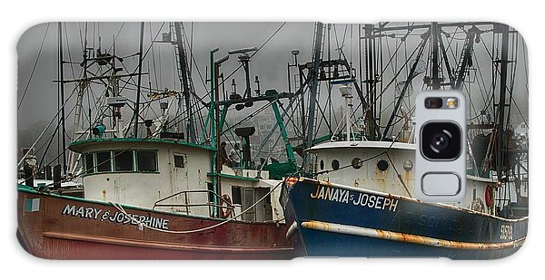 Old Fishing Boats Galaxy Case
