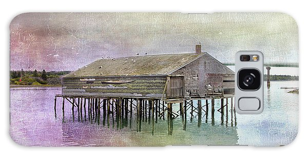 Old Fishing Pier  Galaxy Case by Betty  Pauwels