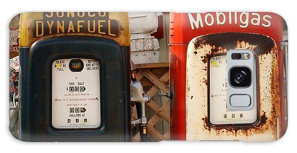 Old Fuel Pumps Galaxy Case