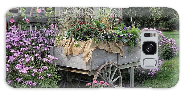 Old Garden Cart Galaxy Case