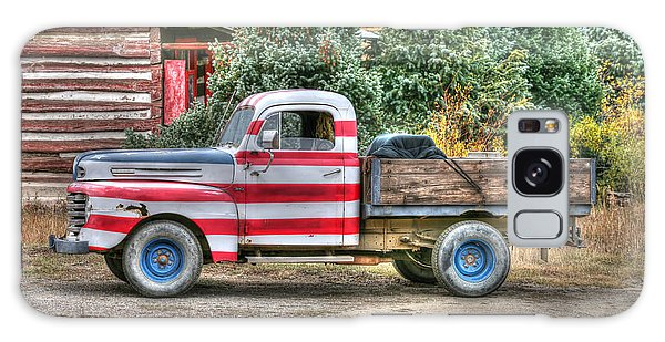 Old Glory Ford Pickup Galaxy Case