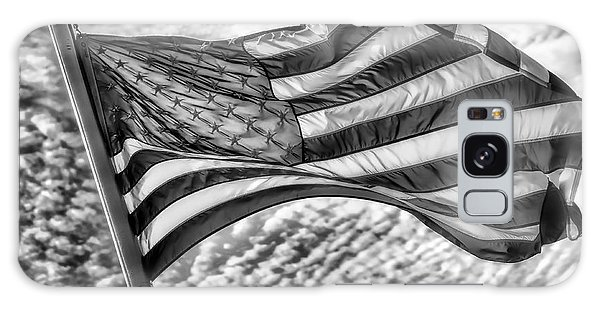 Old Glory Galaxy Case by Jack Torcello