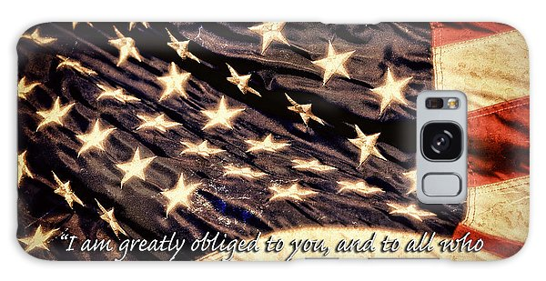 Old Glory Military Tribute Galaxy Case