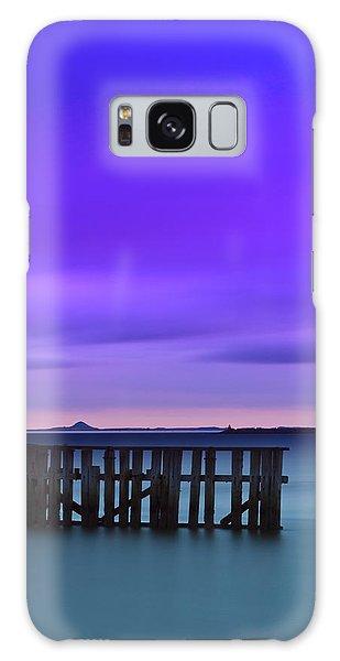 Old Granton Pier Galaxy Case