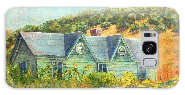 Old Green House On The Hill Galaxy Case