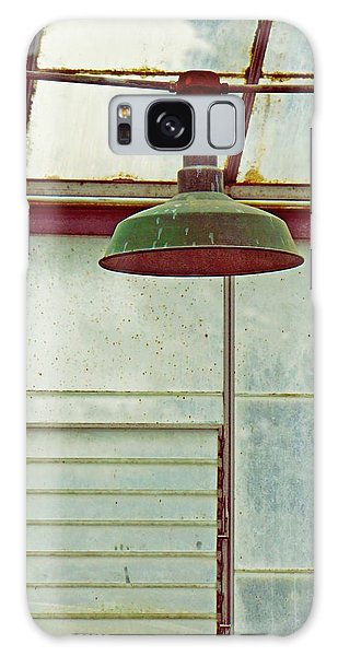 Old Green Lamp Galaxy Case by Patricia Strand