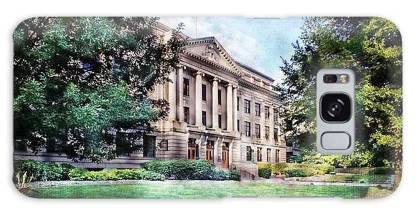 Old Guilford County Courthouse Summertime Galaxy Case