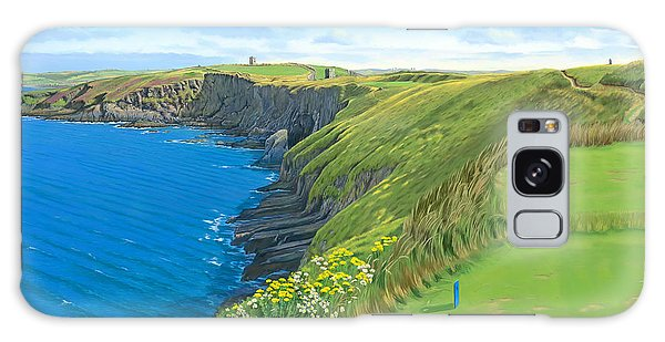 Old Head Golf Club Ireland Galaxy Case by Tim Gilliland