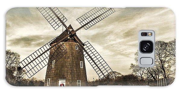 Old Hook Windmill Galaxy Case