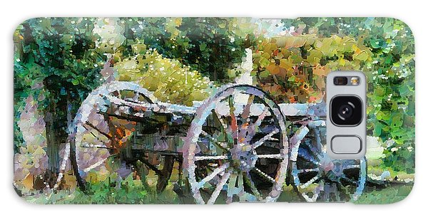 Old Horse Cart Galaxy Case