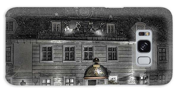 Old Hotel II Galaxy Case by Robert Culver