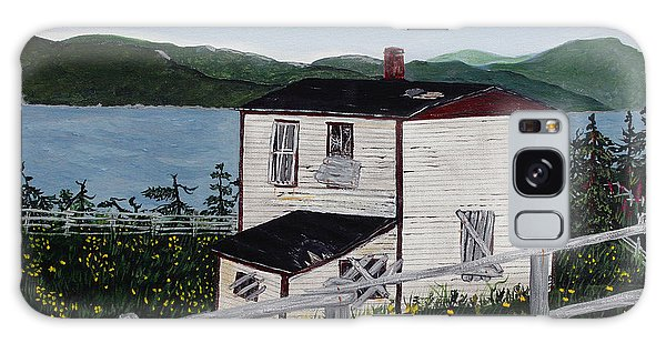 Old House - If Walls Could Talk Galaxy Case by Barbara Griffin