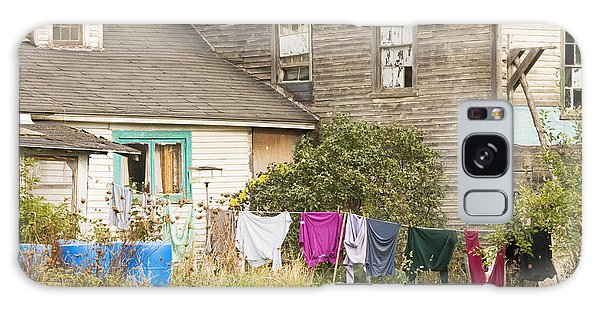 Old House With Laundry Galaxy Case by Keith Webber Jr