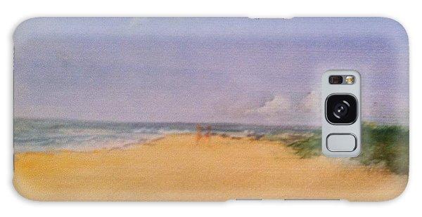 Old Hunstanton Beach Galaxy Case