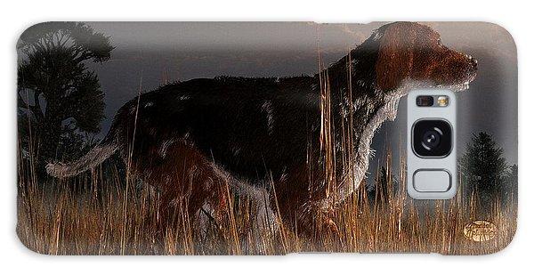 Sportsman Galaxy Case - Old Hunting Dog by Daniel Eskridge
