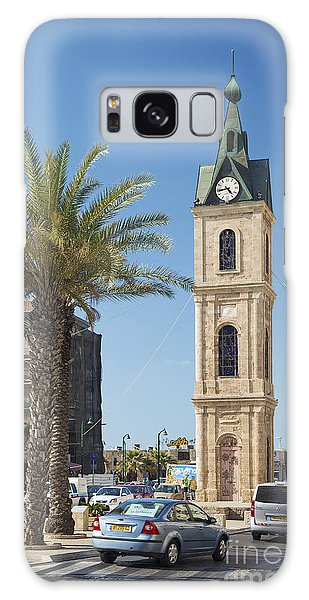 Old Jaffa Clocktower In Tel Aviv Israel Galaxy Case