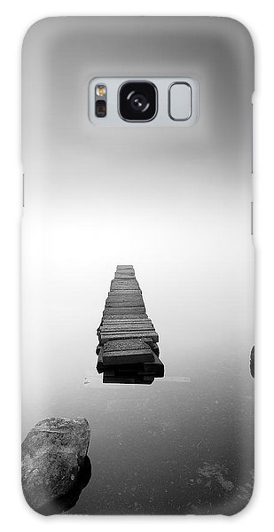 Old Jetty In The Mist Galaxy Case