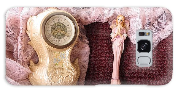 Old Lace And Time Galaxy Case by Fortunate Findings Shirley Dickerson