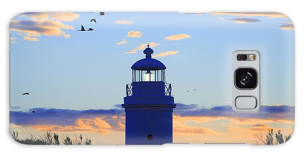 Old Lighthouse Galaxy Case