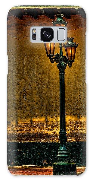 Old Lima Street Lamp Galaxy Case